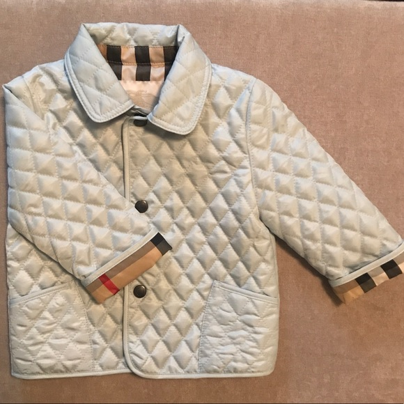 Burberry Jackets Coats Colin Quilted Jacket Baby Boys Poshmark